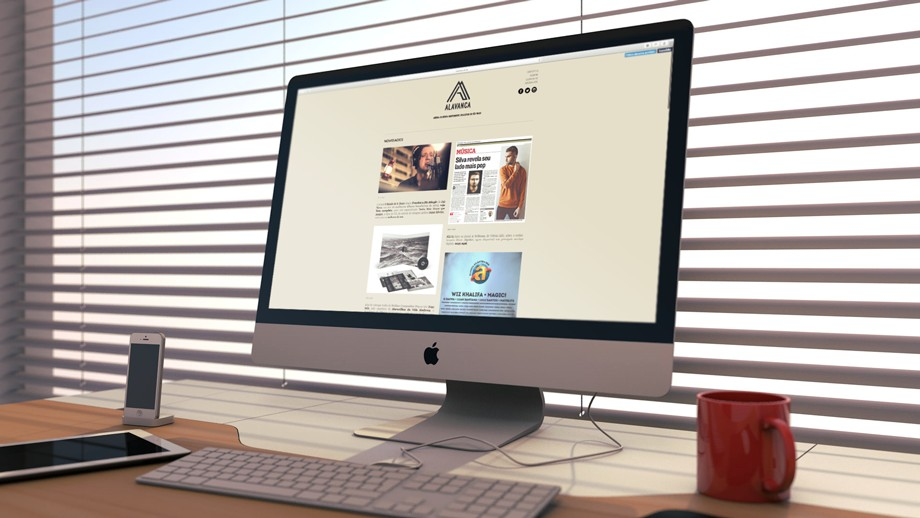 Alavanca Website